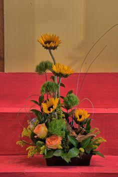 Beautiful Sunflower Arrangement