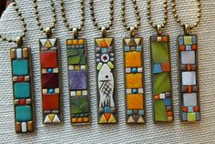 Nikki Sullivan Mosaics New bezel shapes