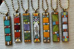 Nikki Sullivan Mosaics  New bezel shapes