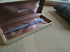 Wonderful vintage silver pen AURORA DOCUMENTARY di RalphaRecycled
