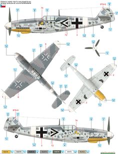 Here is the Messerschmitt Bf 109G-2/Trop JG 77 Camouflage Color Profile
