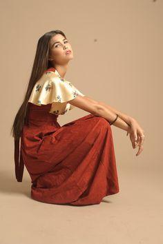 Copious: Hippie Vintage Maxi Dress
