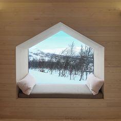 Detail Collective | Blog | Interior Spaces | Window Seats | Image: via Yatzer design Reiulf Ramstad.