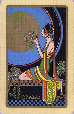 ART DECO PLAYING CARDS c1920