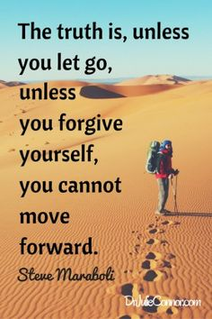 "Find tips to ""What You Must Let Go To Move Forward"""