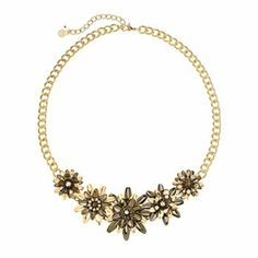 Simply Vera Vera Wang Flower Necklace #kohls