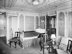 Titanic - A First-Class Cabin