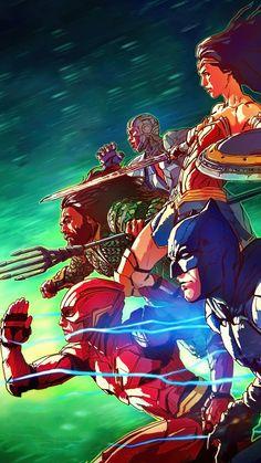 Justice League (2017) Phone Wallpaper | Moviemania