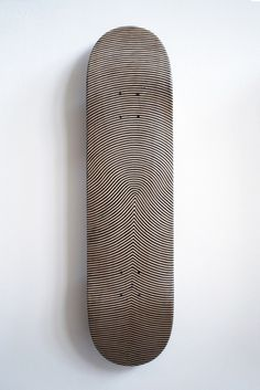 thedailyboard:  Finger print skateboard deck Want to discover thousands of other boards ? Follow me