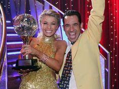 Season 5 winners: Helio Castroneves & Julianne Hough  (...still not watching, lots of talk at work...)