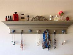 Design jewelry organizer wall display ideas (22)