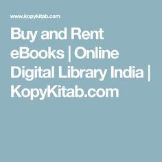 Buy and Rent eBooks | Online Digital Library India | KopyKitab.com