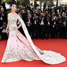 Fan Bingbing in Ralph & Russo Couture - Cannes Film Festival 2015: Red Carpet | Harper's Bazaar