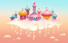 Joey Chou - Some early development concept art I did years ago. Shimmer And Shine Cake, Joey Chou, My Little Pony Dolls, Icicle Lights, Little Girl Birthday, Dora The Explorer, Environment Concept Art, Lol Dolls, Visual Development