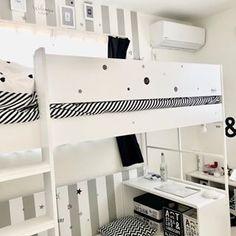 ハイタイプ ロフトベッド Peep(ピープ) 5色対応 デスク付き「家具通販のわくわくランド 本店」