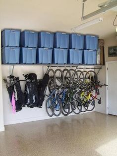 Garage storage-if my garage looked like this that would mean the rest of my house were organized too...not just yet...someday