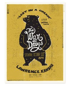 The War on Drugs by Tad Carpenter Creative