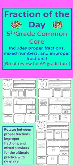 Fractions Assessment Packet - Grade 4 (4.NF.1-7) | Pinterest | Math ...