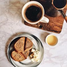 #breakfast #food #coffee #morning #toast #flatlay