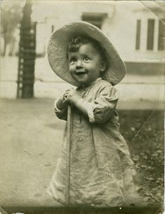 Sweet little Edwardian gardener boy