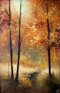 """A symbol of life. All you need is your imagination."""" - Pinner before me Lol this is a nice painting Watercolor Landscape, Landscape Art, Landscape Paintings, Watercolor Paintings, Watercolour, Watercolor Artists, Winter Landscape, Painting Art, Paintings I Love"""