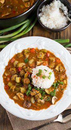 19 vegan soul food recipes for down home comfort pinterest soul vegetarian gumbo forumfinder Choice Image