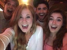 Colin Ford, Mackenzie Lintz, Max Ehrich, and Grace Cox