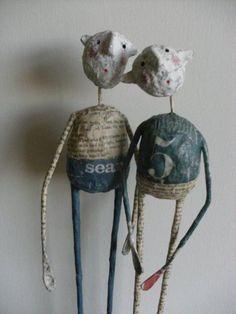 Paper sculptures by Jane Strawbridge