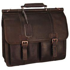 Kenneth Cole Reaction Leather Briefcase #VonMaur #ProfessionalDad