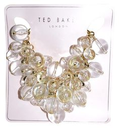 Ted Baker Geminna Crystal Orb Cluster Statement Necklace - 47% Off Retail