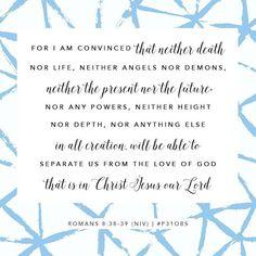 Romans 8:38-39