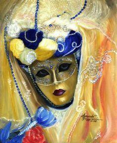 ImpressioniArtistiche: Leonardo Ruggieri ~ Venetian Mask ~