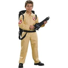 On sale Ghostbuster Deluxe Child's Costume with Blow Up Proton Pack, Medium for  Halloween Gifts Idea Sales for  #Halloween Gifts Idea Promotions