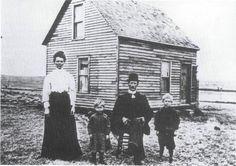 A Swedish pioneer family in South Dakota ca 1900