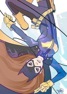 All New Batgirl by Shawn Yap *