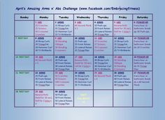 Arms and abs challenge