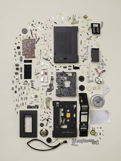 'Disassembly' is a series of photos by Toronto-based photographer Todd Mclellan that captures dismantled objects from our past. Corel Painter, Street Curb, Things Organized Neatly, Coming Apart, Oldschool, Take Apart, Deconstruction, Household, Gallery Wall