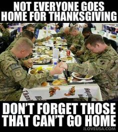 Laus Deo: Giving Thanks for the Troops on #thanksgiving