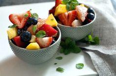 Black Pepper Honey Fruit Salad