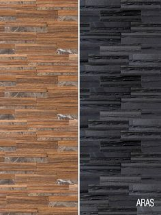 Petrified wood and volcanic slate tile looks can help create a feeling of aged elegance in your kitchen or foyer. Perfect for accent wall tile designs. Check out Architectural Ceramics for more wood-look tile options.
