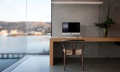 A Home Overhanging The Harbor In Hobart