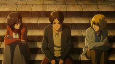 Aot Armin, Eren And Mikasa, Aot Characters, Fictional Characters, Best Movie Lines, Still Frame, Matching Wallpaper, Real Hero, Attack On Titan Anime
