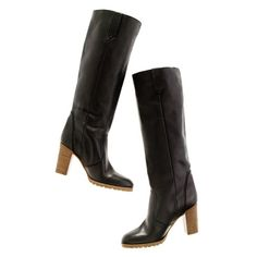 "madewell the watchtower boot 50340 $325.00 The ruggedly cool knee-length style every wardrobe needs. Please note: When you select your size below, ""H"" equals a half size. Hits above calf. 3 1/4"" stacked heel. Italian leather upper. Leather lining. Made in Italy."