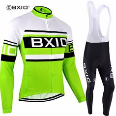 BXIO Invierno Ropa Ciclismo Winter Thermal Fleece Bicycle Jersey Long Sleeve Warm Cycling Clothing Wielerkleding Masculino 009 #Affiliate