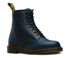The 8-eye 1460 boot is as iconic today as was when it rolled off the production line in the 60s, so we've updated it in our Carpathian leather. Oily full grain leather with natural tumbled texture, on top of our signature air cushioned sole. Our Reinvented range takes classic Dr. Martens styles and customizes them, playing with their history to create something new every season. Made with Goodyear welt, the upper and sole are heat-sealed and sewn together, not merely glued, like many foot...