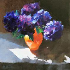 Barbara Benedetti Newton Gallery of Original Fine Art Hydrangeas, Fine Art Gallery, Best Memories, Art For Sale, Flower Art, Flowers, Artist, Painting, Art Floral