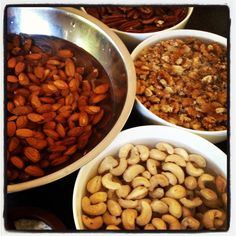 Activating nuts & seeds. The what, the why and the how.
