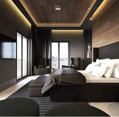 Modern Bedroom Ideas - Trying to find the best bedroom design ideas? Make use of these lovely modern bedroom ideas as ideas for your own wonderful designing scheme . Small Room Bedroom, Small Rooms, Home Decor Bedroom, Bedroom Ideas, Bedroom Ceiling, Bed Room, Bedroom Lighting, Ceiling Design For Bedroom, Small Spaces