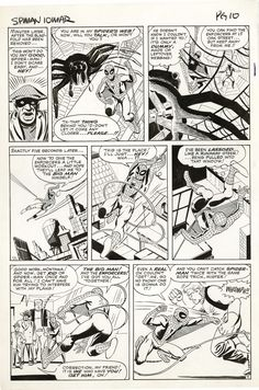 Page from AMAZING SPIDER-MAN # 10 by Steve Ditko.