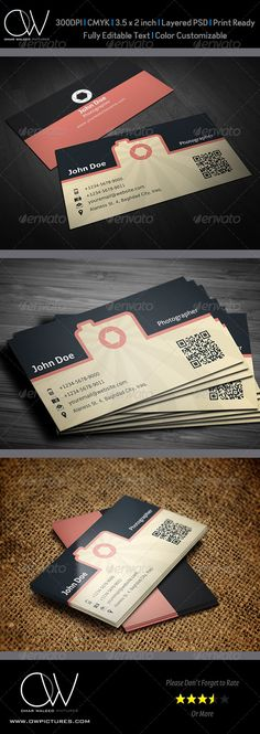 Photographer Business Card Vol. 2